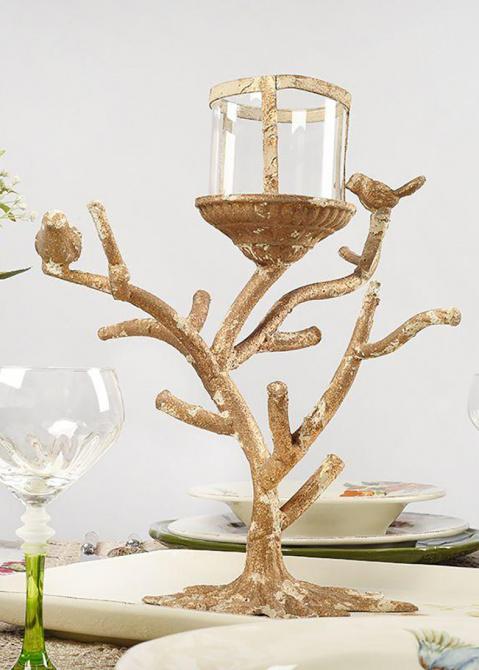 Подсвечник Mastercraft Птицы на дереве, фото