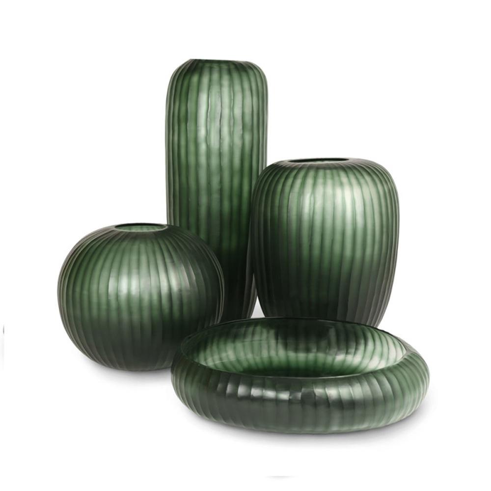 Стеклянная ваза Guaxs Gobi Bowl  45х30см