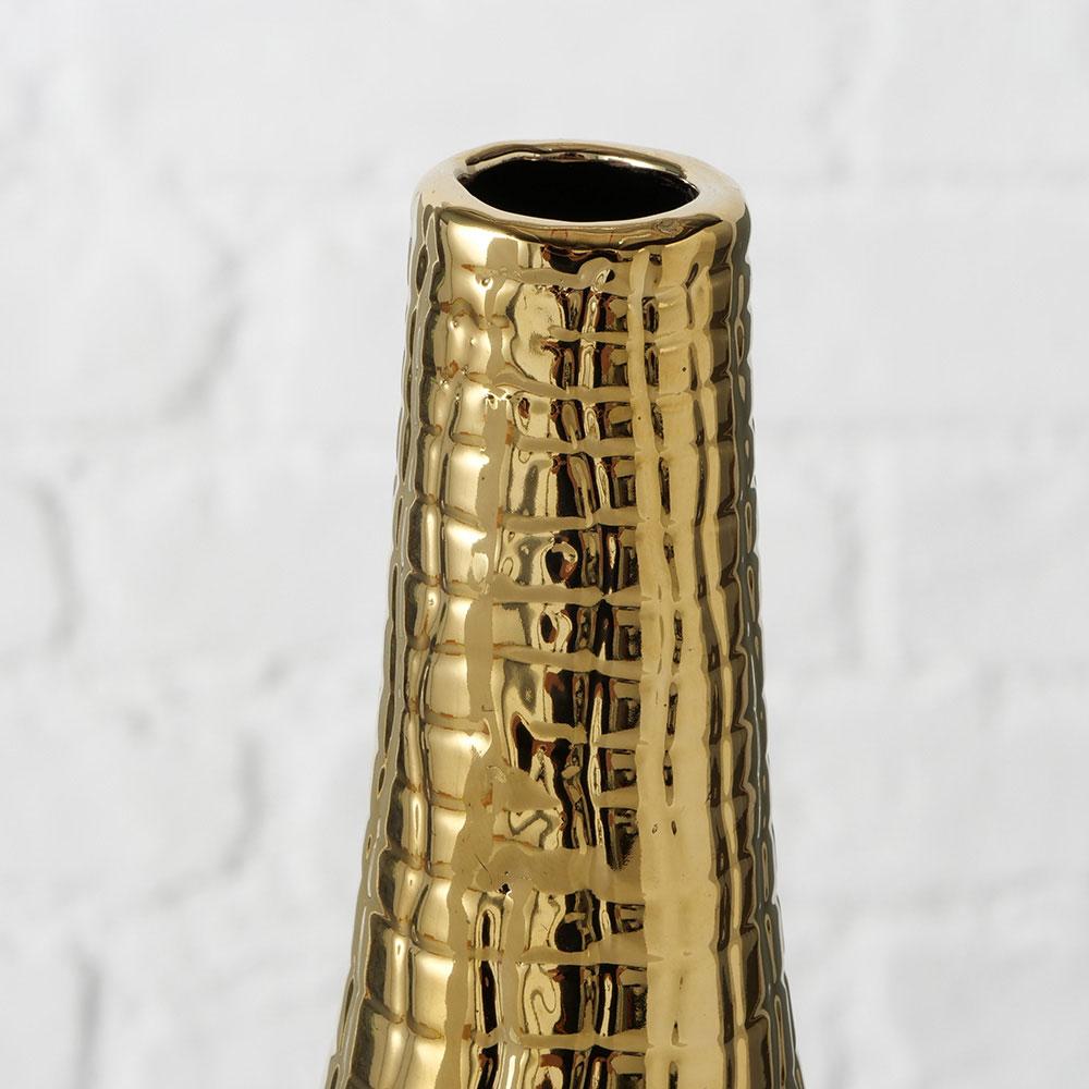 Керамическая ваза Boltze золотистого цвета