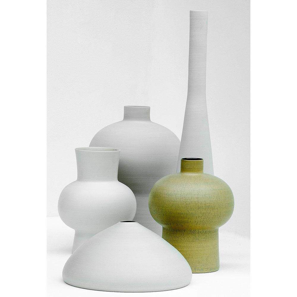 Керамическая ваза Rina Menardi Solo 75см черного цвета