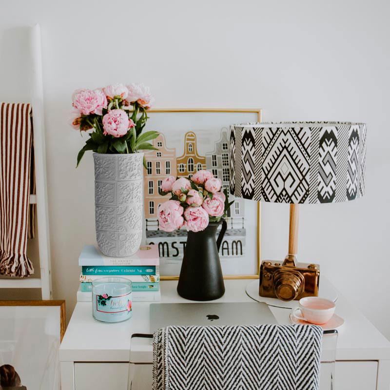 Ваза Ceramika Design Izraztsy белого цвета