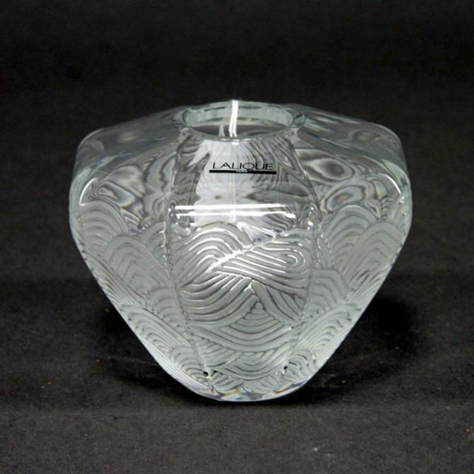 Хрустальная ваза Lalique Lantern прозрачная, фото