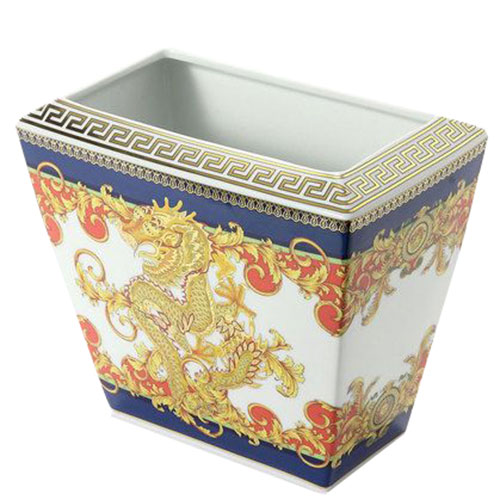 Ваза из фарфора Rosenthal Versace Legent Of The Dragon, фото