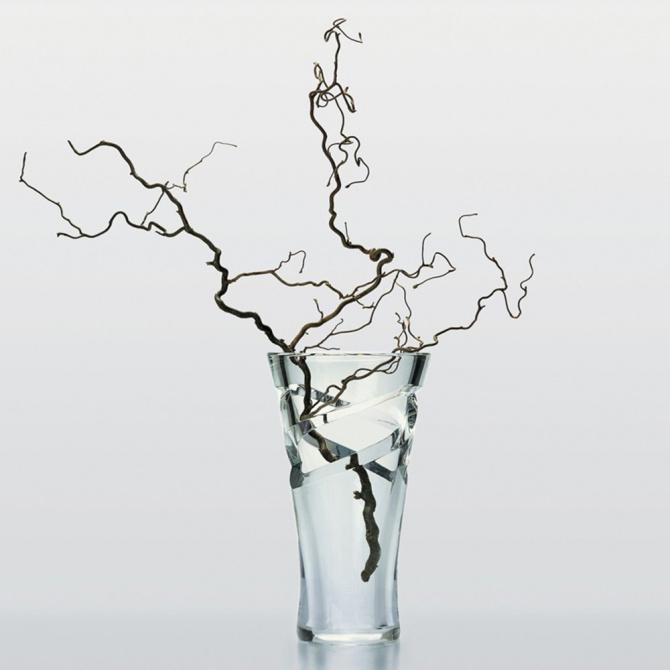 Хрустальная ваза Baccarat Tornado, фото