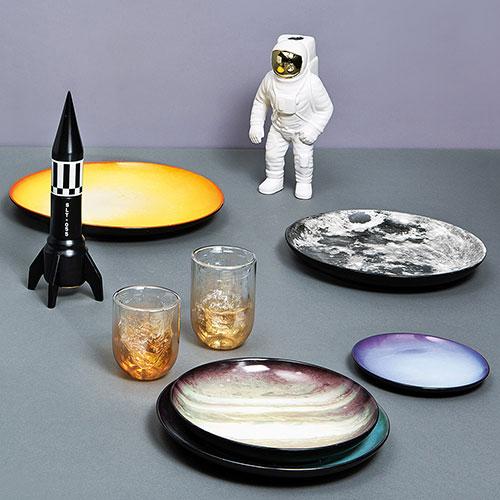 Ваза Seletti Cosmic Dinner Астронавт из фарфора, фото