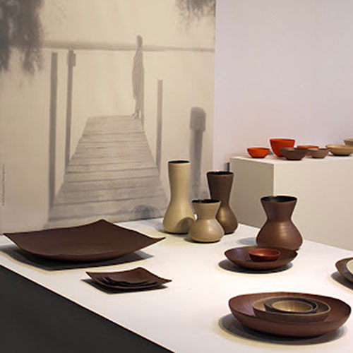 Керамическая ваза Rina Menardi Giara 26см бежевого цвета, фото