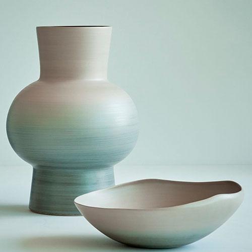 Ваза Rina Menardi Royal Vase 32см красного цвета, фото