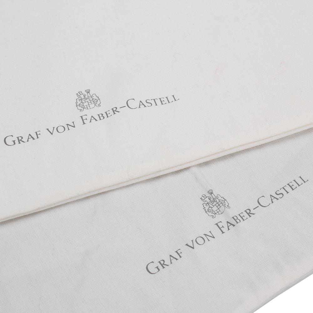 Подложка для письма Graf von Faber-Castell из натуральной черной кожи