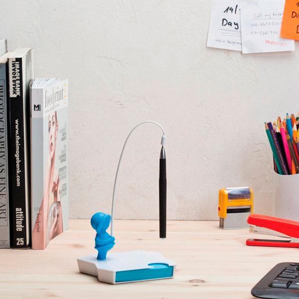 Держатель для заметок и ручки Peleg Design Eskimemo