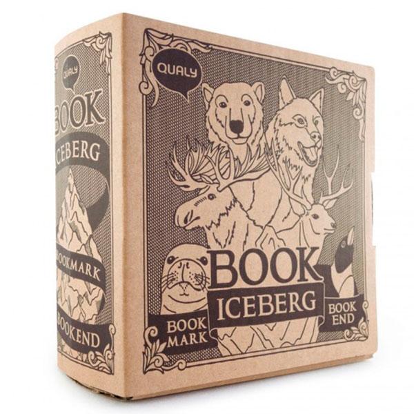 Подставка для книг с закладками Qualy Book Mountain