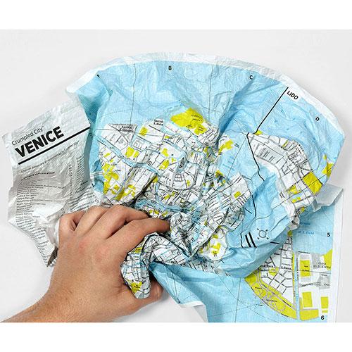 Мятая карта Palomar Dubai, фото