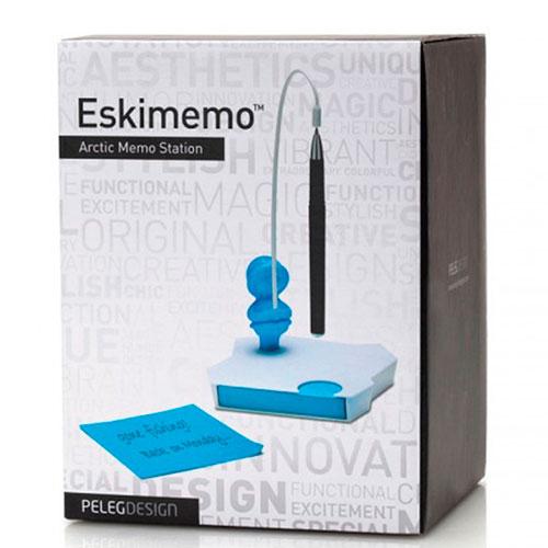 Держатель для заметок и ручки Peleg Design Eskimemo, фото