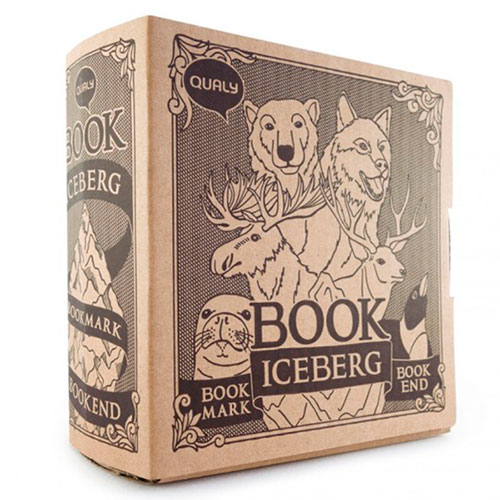 Подставка для книг с закладками Qualy Book Mountain, фото