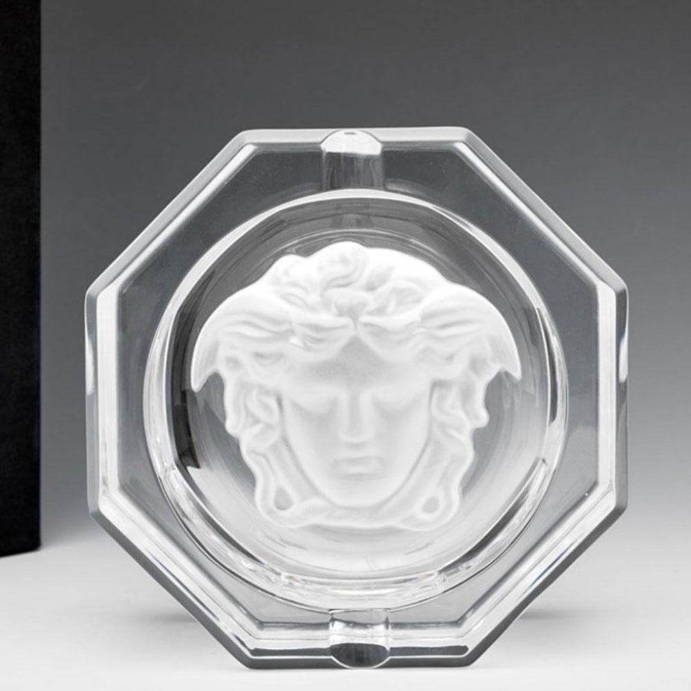Хрустальная пепельница Rosenthal Versace Medusa Lumiere