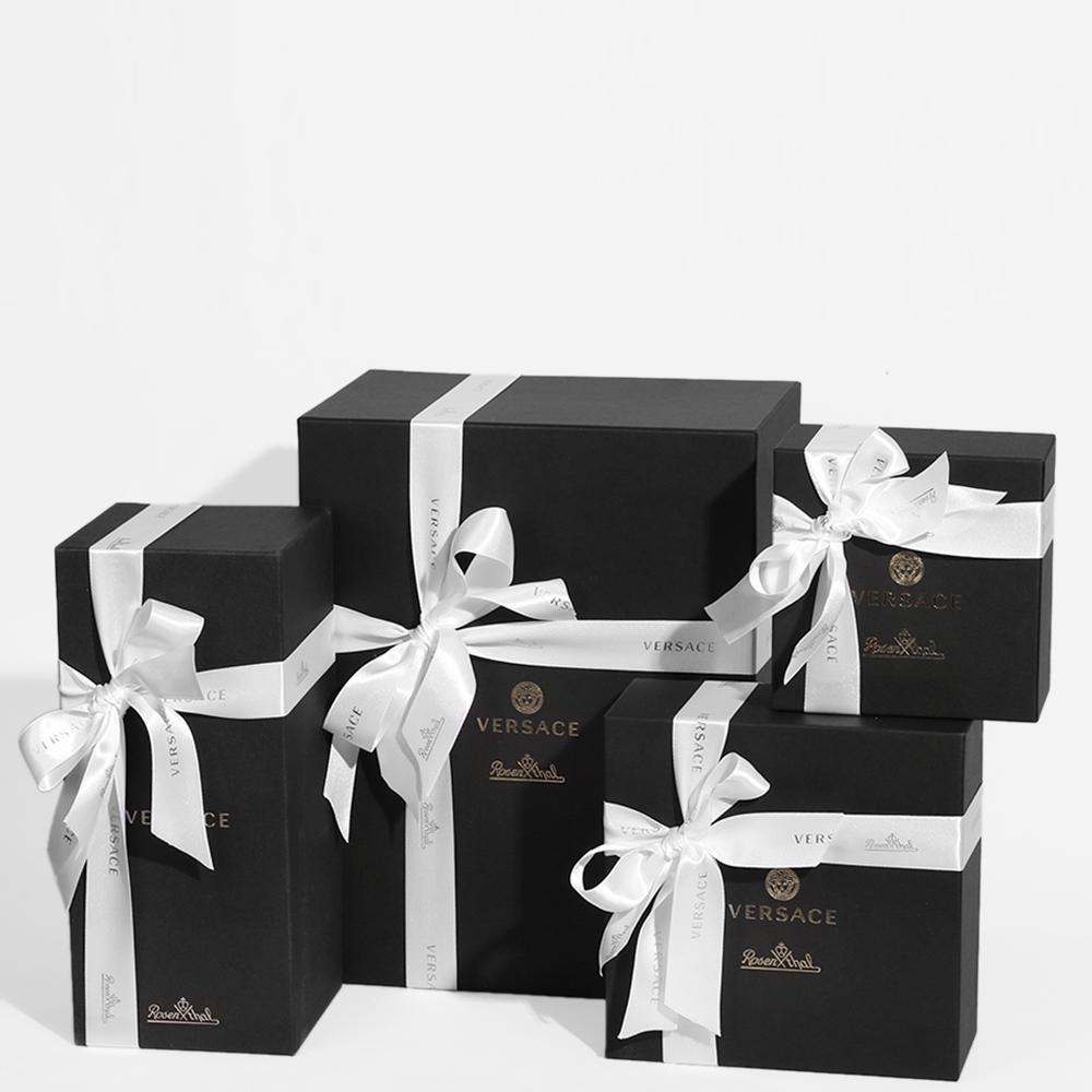 Прозрачная пепельница Rosenthal Versace Arabesque из хрусталя