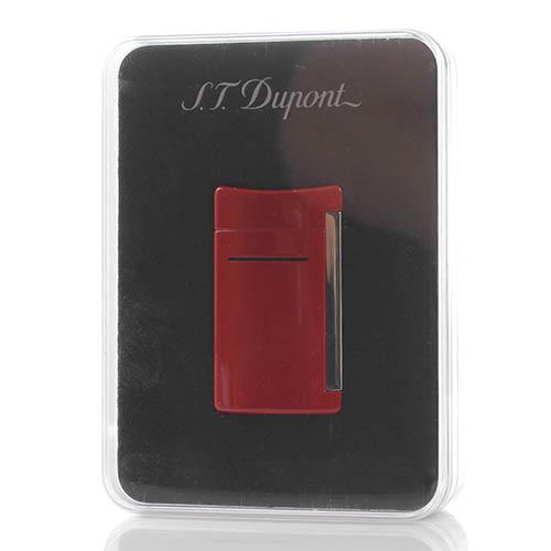 Зажигалка S.T.Dupont MINIJET красного цвета, фото