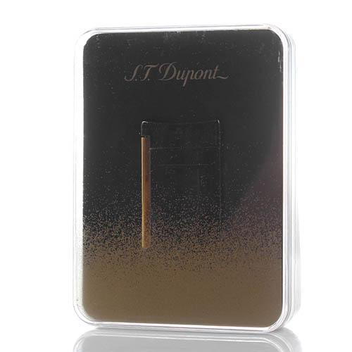 Зажигалка S.T.Dupont MINIJET черного цвета, фото