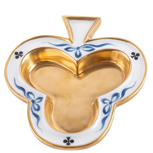 Набор пепельниц Faberge Card-Suite из фарфора, фото