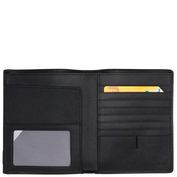 Серое портмоне Tumi Alpha с отделением для документов