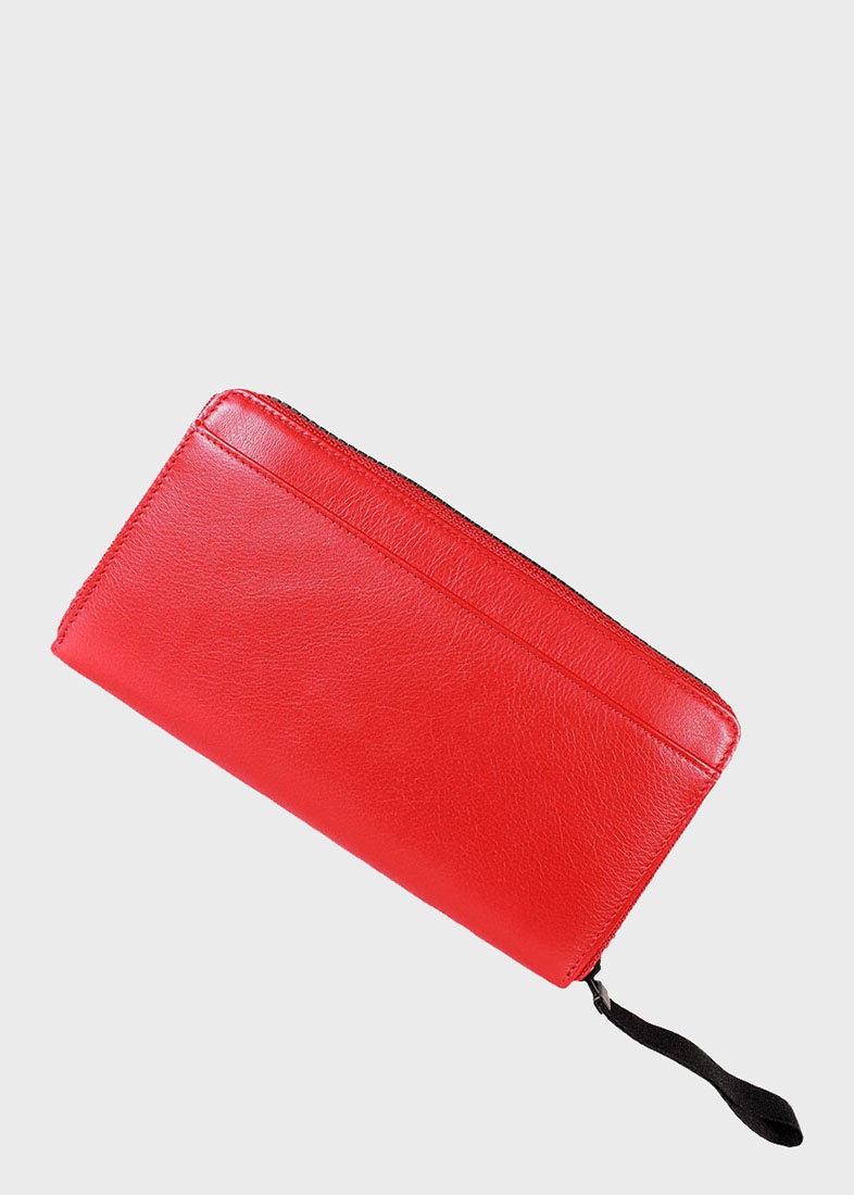 Красный кошелек Braun Bueffel Capri на молнии