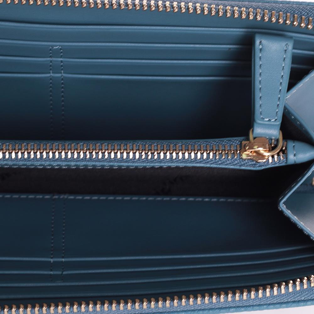 Женский кошелек Baldinini Margaret голубого цвета