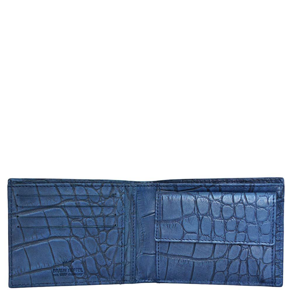 Портмоне Braun Büffel Lisboa синего цвета