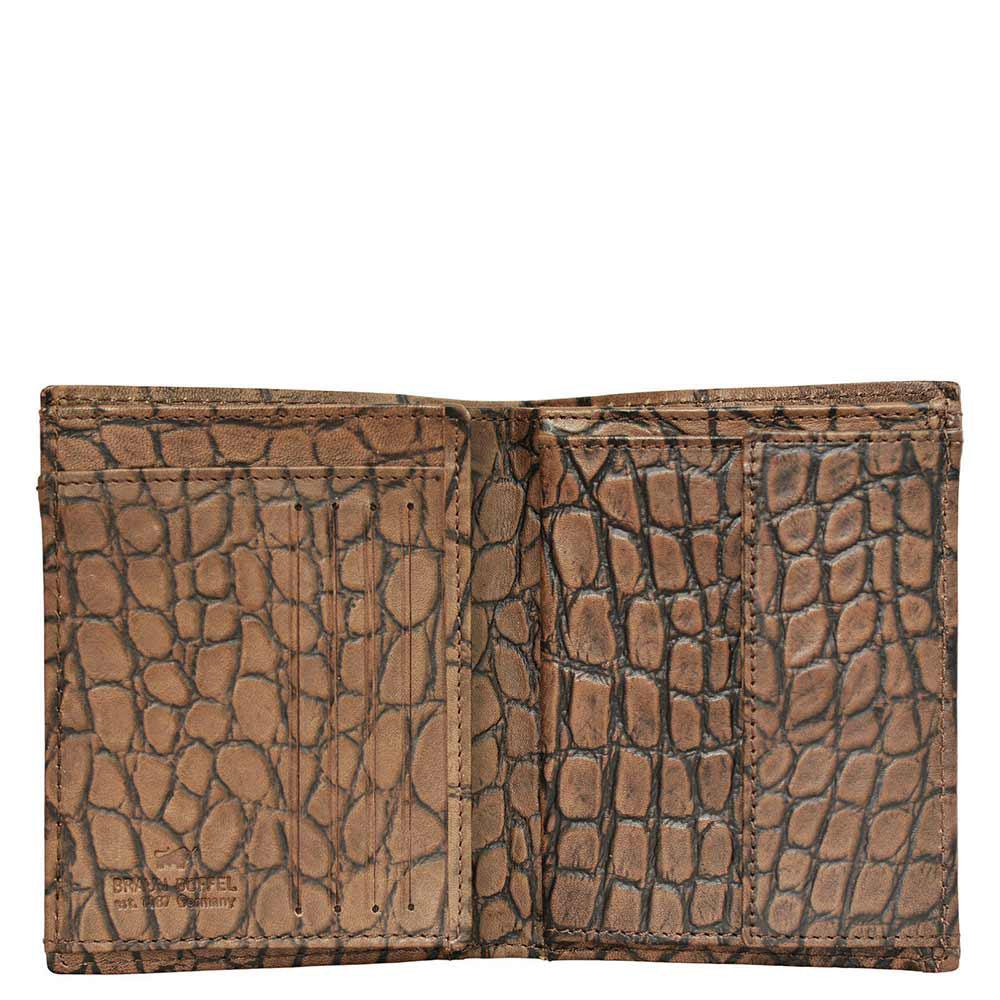 Портмоне Braun Büffel Lisboa коричневого цвета с карманом для монет