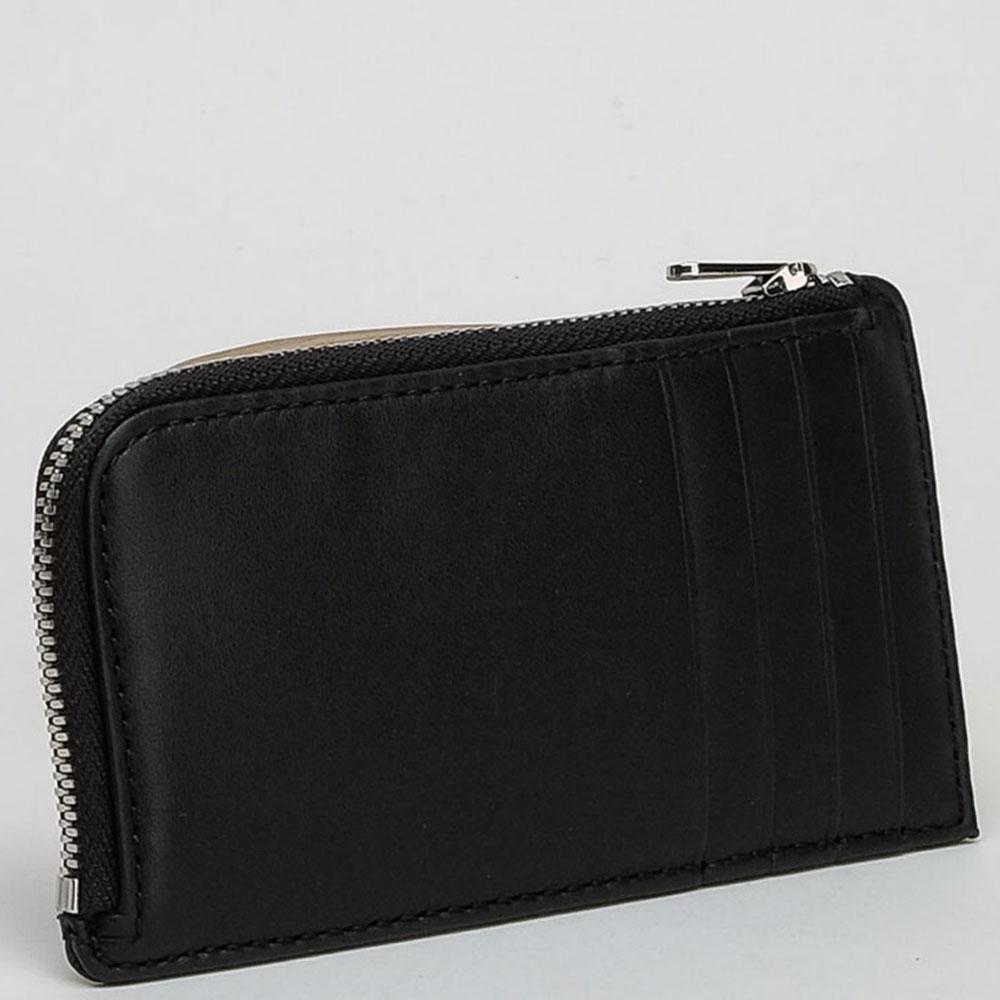 Черный кошелек Calvin Klein с надписью
