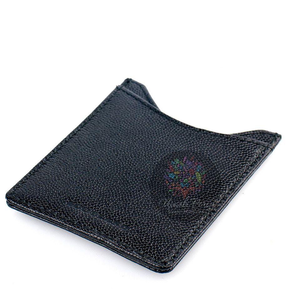 Кредитница-зажим для денег и карт Dalvey черного цвета