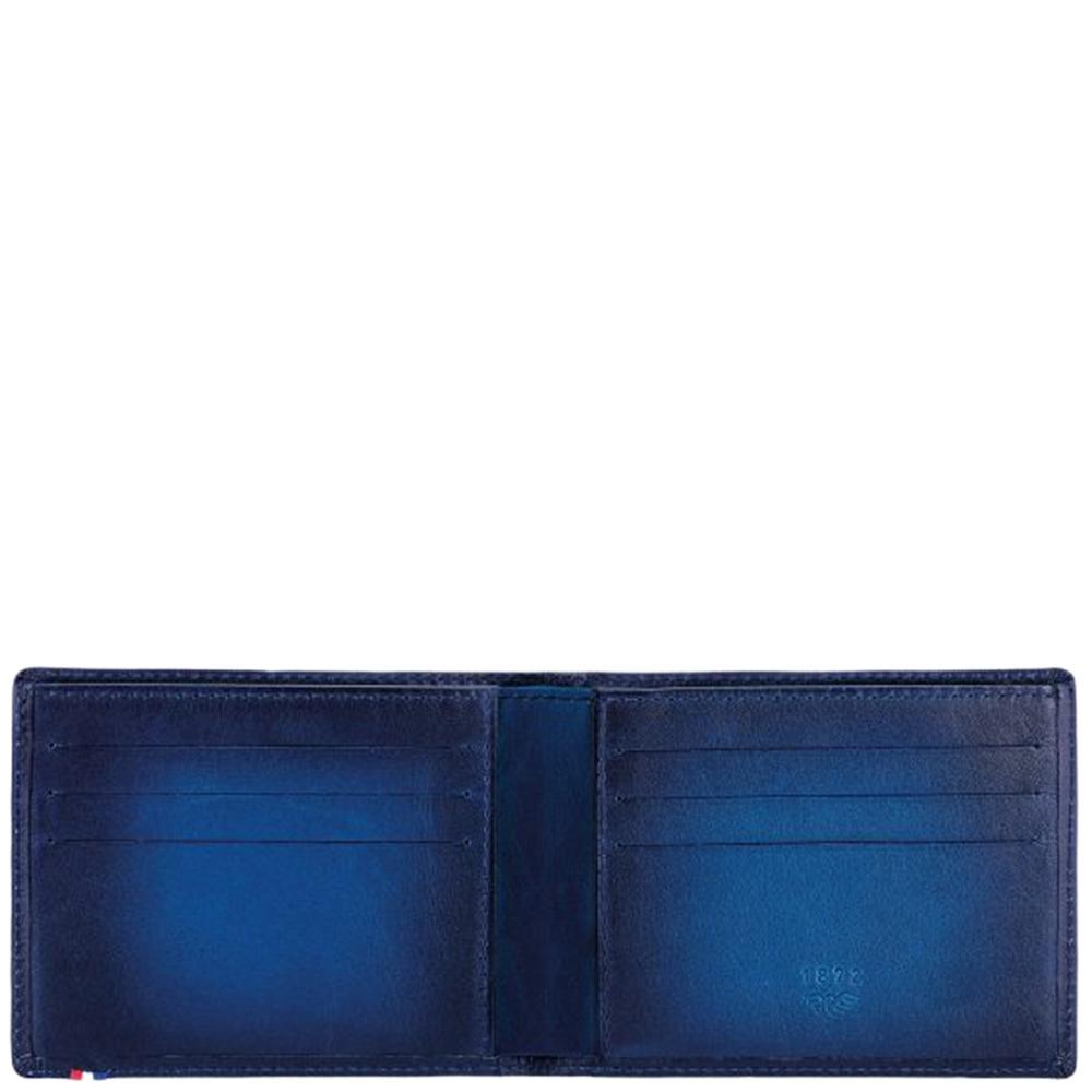 Синее портмоне S.T.Dupont Atelier