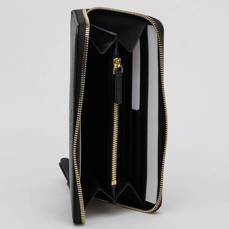 Женский кошелек Emporio Armani черного цвета