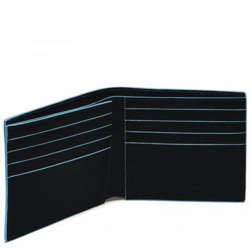 Классическое портмоне Piquadro для 8 кредитных карт Blue square