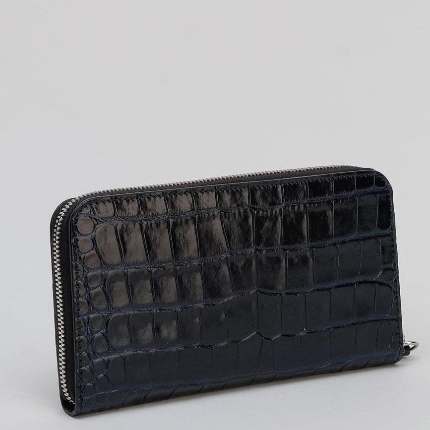 Женский лакированный кошелек Tosca Blu черного цвета