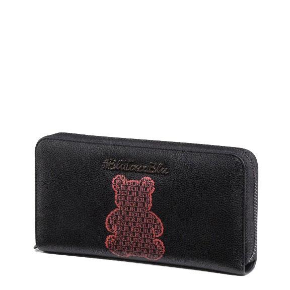 Женский кошелек Tosca Blu с вышивкой в виде мишки