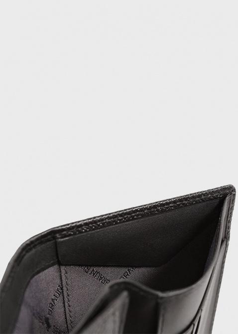 Черное портмоне Braun Bueffel Monza с карманом для монет, фото