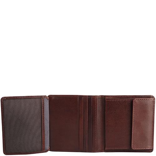 Портмоне Braun Bueffel Venice коричневого цвета, фото