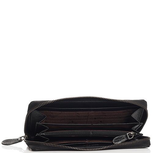 Черное портмоне Braun Bueffel Soave на молнии, фото