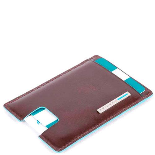 Портмоне Piquadro Bk Square с отделением для кредитных карт , фото