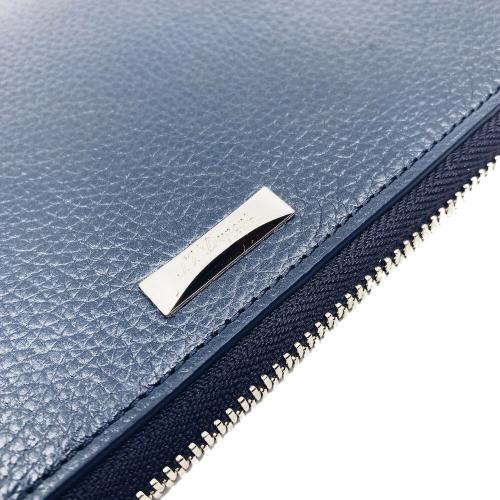 Синий кошелек S.T.Dupont Soft Diamont Graine, фото