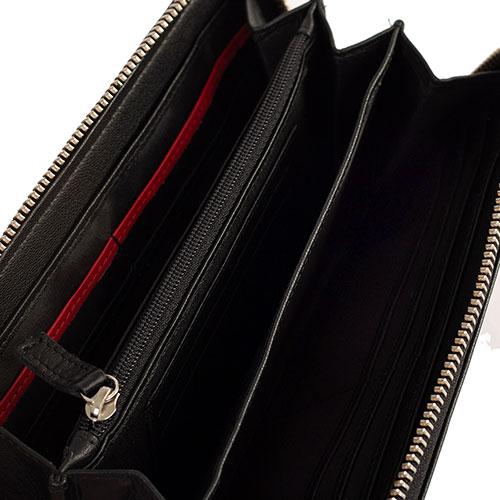 Мужской кошелек Bikkembergs черного цвета, фото