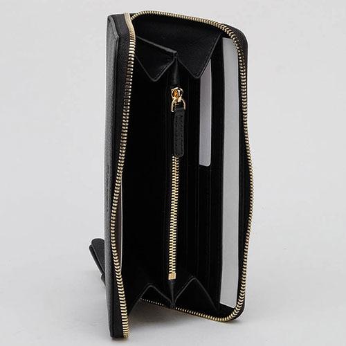 Женский кошелек Emporio Armani черного цвета, фото