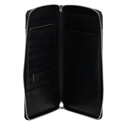 Вертикальное портмоне Hugo Boss черного цвета, фото