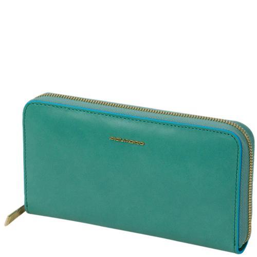 Голубое портмоне Piquadro BL Square, фото
