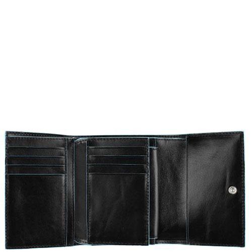 Портмоне Piquadro Bl Square с отделением для 12 кредитных карт с RFID защитой , фото