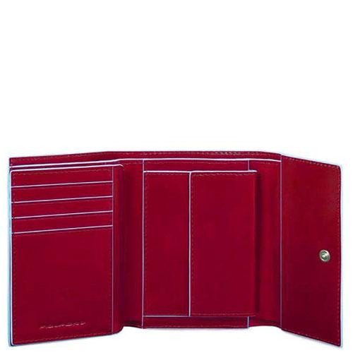 Портмоне Piquadro Bl Square красного цвета, фото