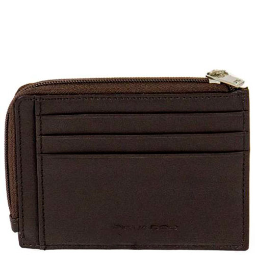 Кредитница Piquadro Tag с отделением для монет на молнии, фото