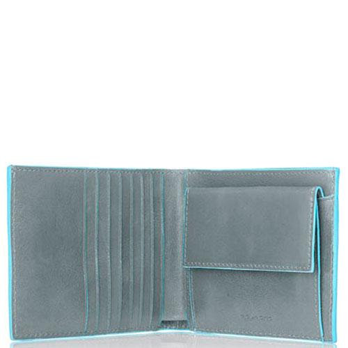 Портмоне Piquadro Bl Square серого цвета, фото