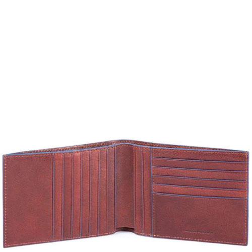 Портмоне Piquadro B2S коричневого цвета, фото