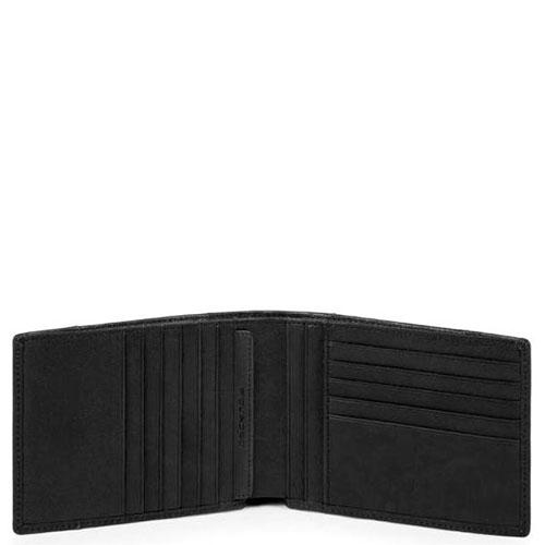 Портмоне Piquadro Brief черного цвета, фото