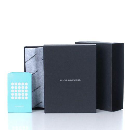 Портмоне Piquadro Blue square с монетницей, фото